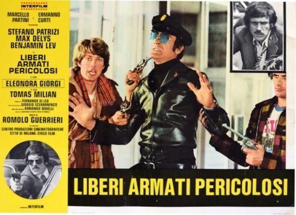 fotobusta italiana de Liberi armati pericolosi