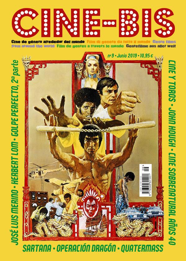 Portada del número 9 de la revista Cine-Bis