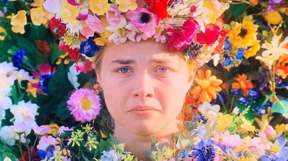 Florence Pugh, en una imagen de Midsommar