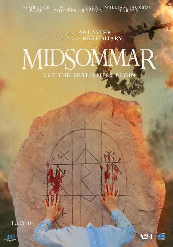 Póster de Midsommar, dirigida por Ari Aster