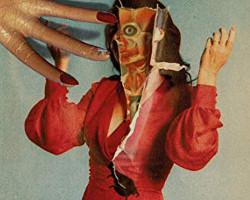 Una imagen del póster de In Fabric, dirigida por Peter Strickland
