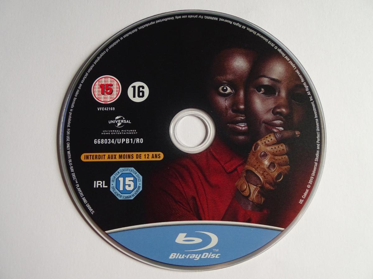 disco Blu-ray del steelbook de Nosotros (Us)