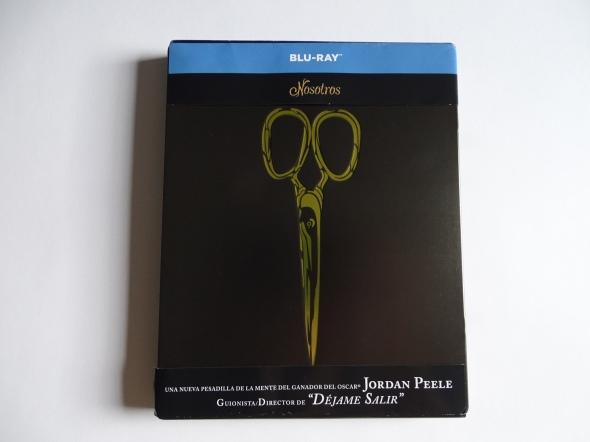 frontal del steelbook de Nosotros (Us) en Blu-ray