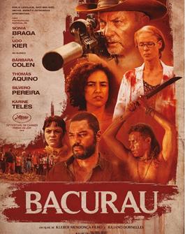 Póster de Bacurau, dirigida por Juliano Dornelles y Kleber Mendoça