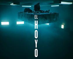 Imagen del póster español de El hoyo