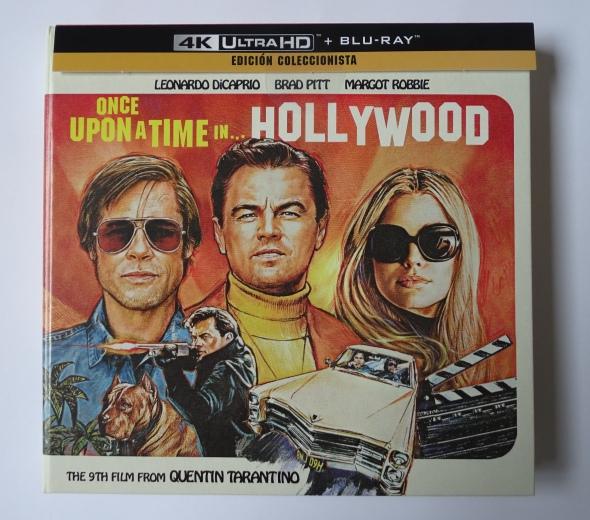 Érase una vez en... Hollywood Edición Coleccionista UHD+Blu-ray frontal