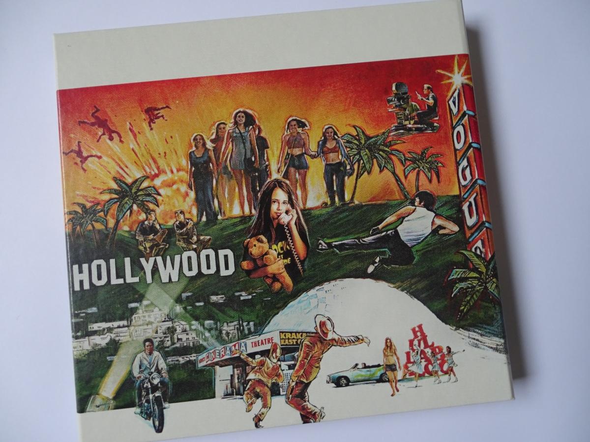 Érase una vez en... Hollywood Edición Coleccionista UHD+Blu-ray digipack panel central