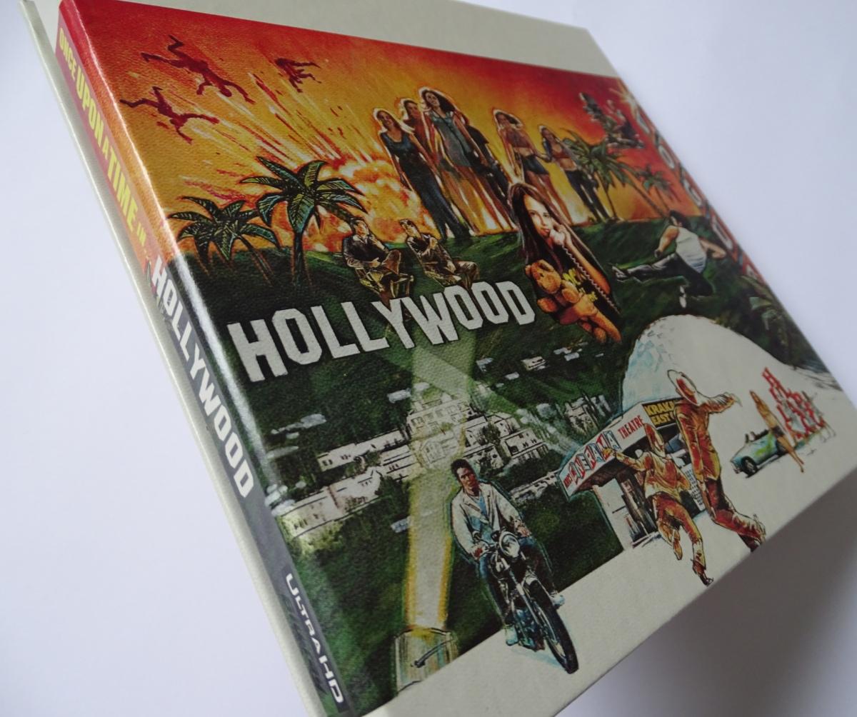 Érase una vez en... Hollywood Edición Coleccionista UHD+Blu-ray digipack lomo derecho