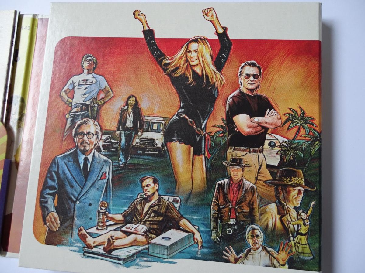 Érase una vez en... Hollywood Edición Coleccionista UHD+Blu-ray digipack panel izquierdo