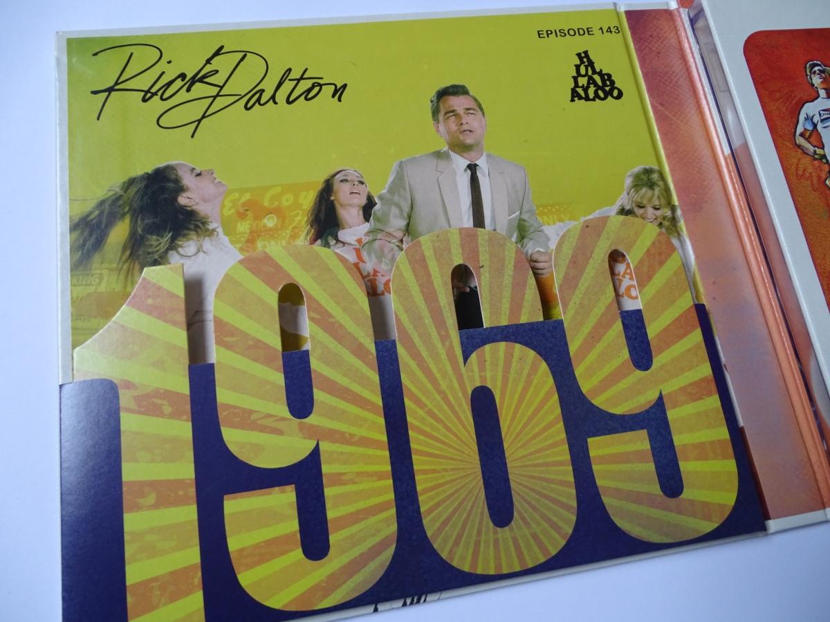 Érase una vez en... Hollywood Edición Coleccionista UHD+Blu-ray panel izquierdo interior