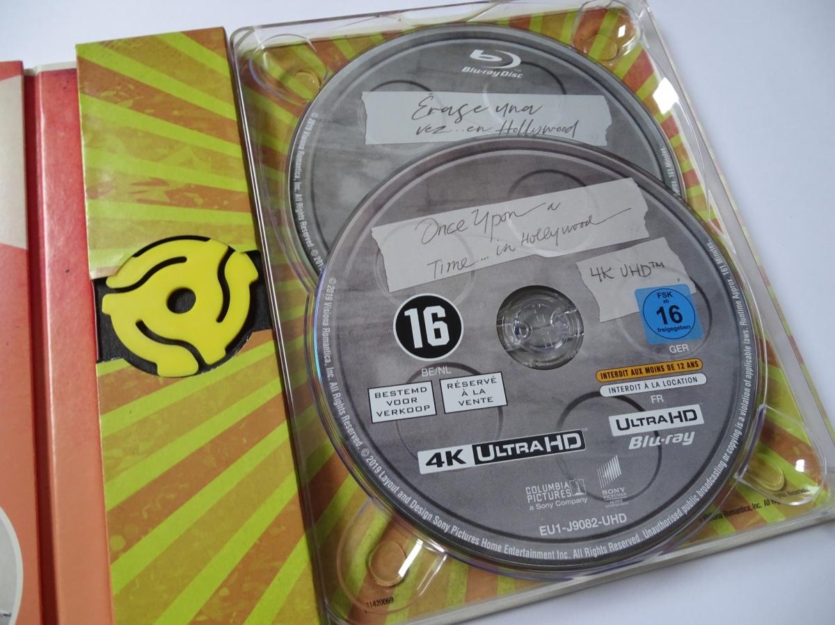 Érase una vez en... Hollywood Edición Coleccionista UHD+Blu-ray panel derecho interior