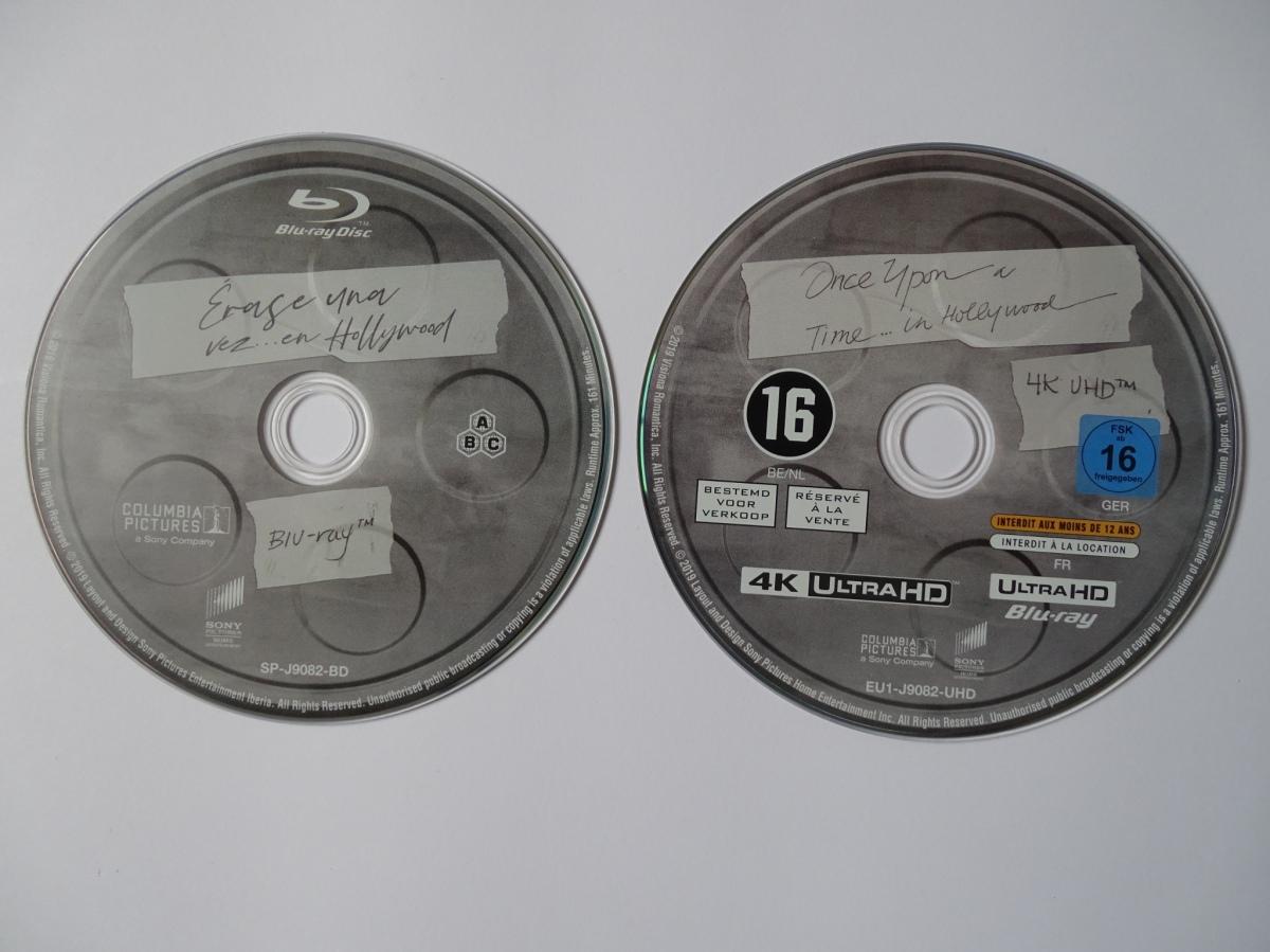 Érase una vez en... Hollywood Edición Coleccionista UHD+Blu-ray discos