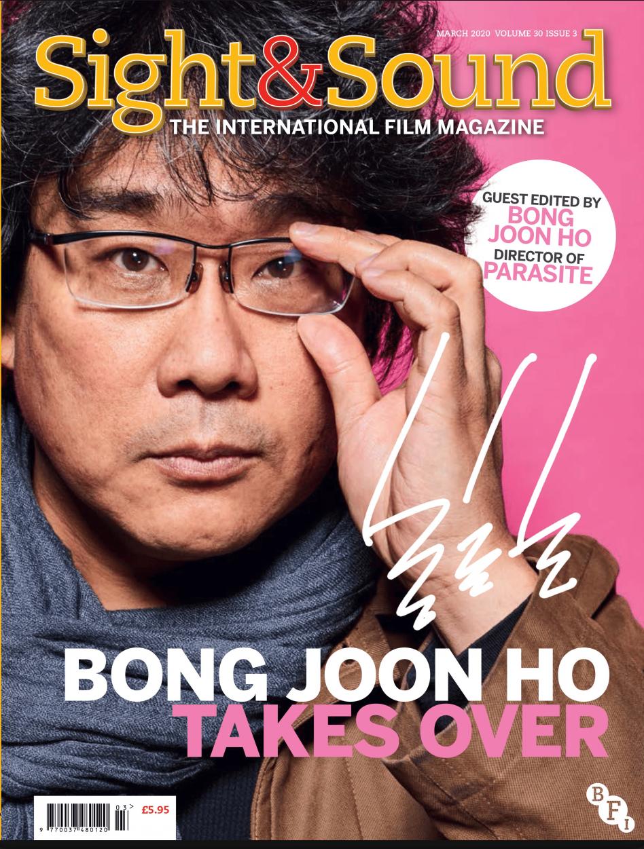 Portada del número de marzo de 2020 de Sight&Sound