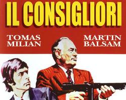 Imagen del póster de Il Consigliori, dirigida por Alberto De Martino