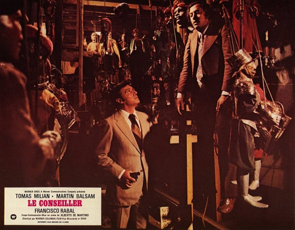 Lobby card de Il Consigliori, dirigida por Alberto De Martino