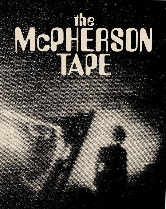 Portada del Blu-ray de The McPherson Tape, dirigida por Dean Alioto