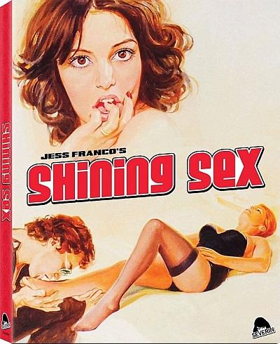 Slipcover de Shining Sex, dirigida por Jess Franco