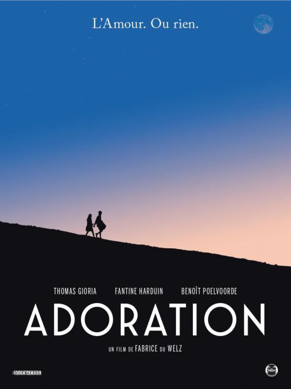 Póster de Adoration, dirigida por Fabrice Du Welz