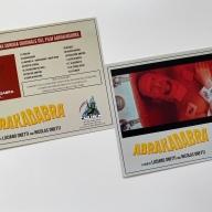Postales incluidas en el Blu-ray de Abrakadabra