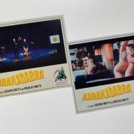 Reverso de las postales incluidas en el Blu-ray de Abrakadabra