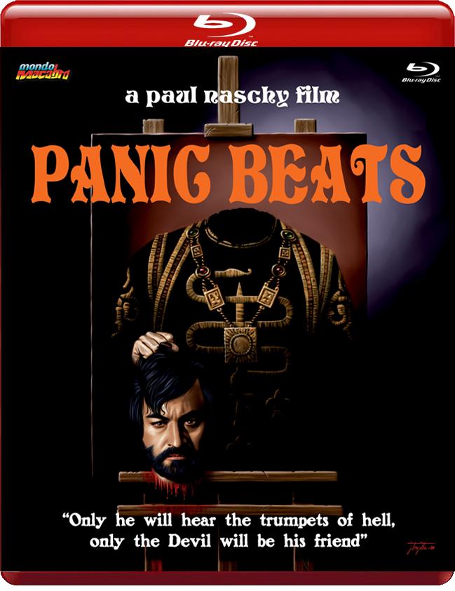 Latidos de pánico por Mondo Macabro, carátula A