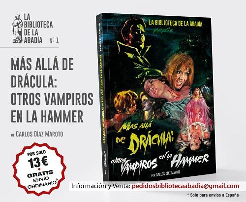 Portada de Más allá de Drácula: Otros vampiros de la Hammer
