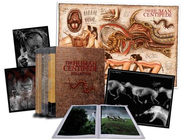 Blu-ray coleccionista de El ciempiés humano 1
