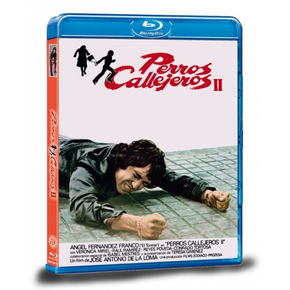 Portada del Blu-ray de Perros callejeros 2