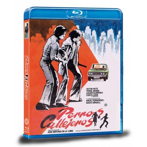 Portada del Blu-ray de Perros callejeros