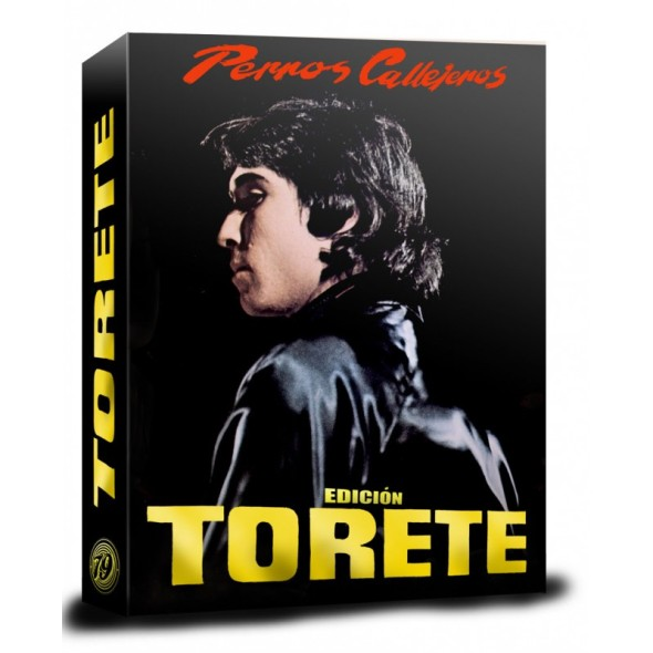 Portada del pack Torete, de la trilogía Perros callejeros en Blu-ray