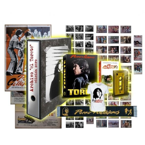 Contenido del pack deluxe Zero de la trilogía Perros callejeros en Blu-ray