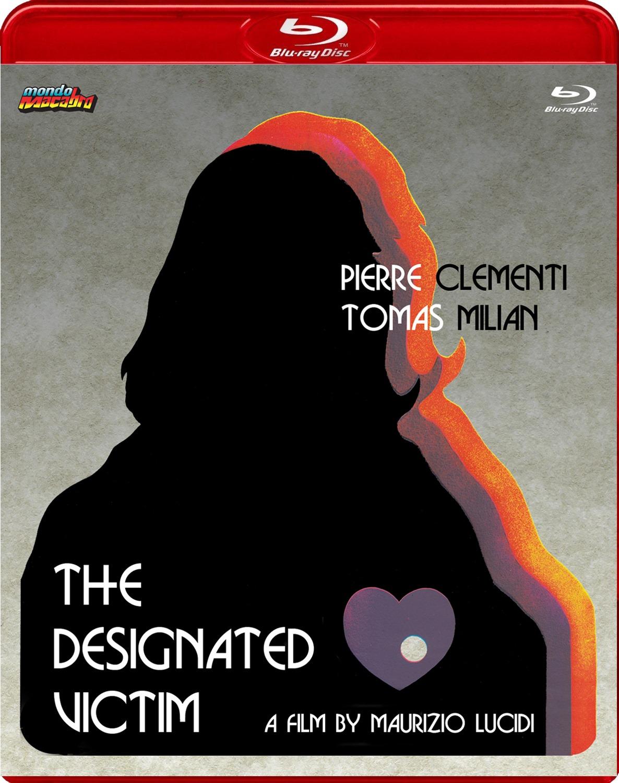 Portada alternativa del Blu-ray de Mondo Macabro de La víctima designada, dirigido por Maurizio Lucidi