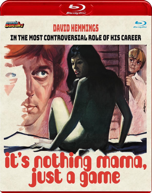 Portada alternativa del Blu-ray de Mondo Macabro de No es nada, mamá, solo un juego, dirigido por