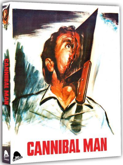 Portada de La semana del asesino, editada en Blu-ray por Severin Films