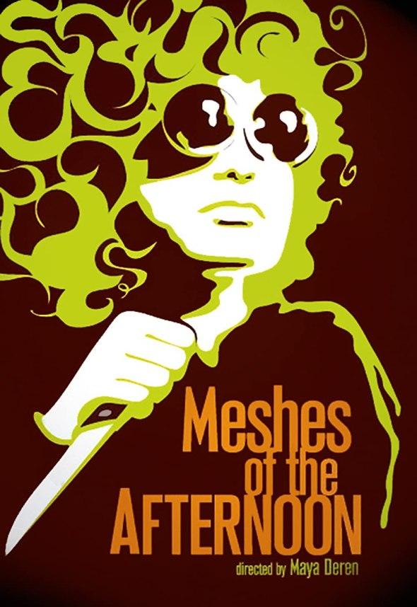 Póster de Meshes of the Afternoon, dirigido por Maya Deren y Alexander Hammid