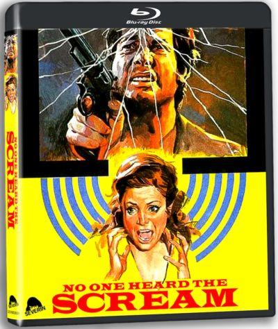 Portada de Nadie oyó gritar, editada en Blu-ray por Severin Films