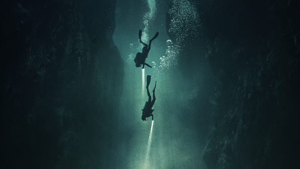 Una imagen de The Deep House, de Alexandre Bustillo y Julien Maury