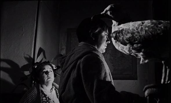 Una imagen de El extraño viaje, dirigida por Fernando Fernán Gómez