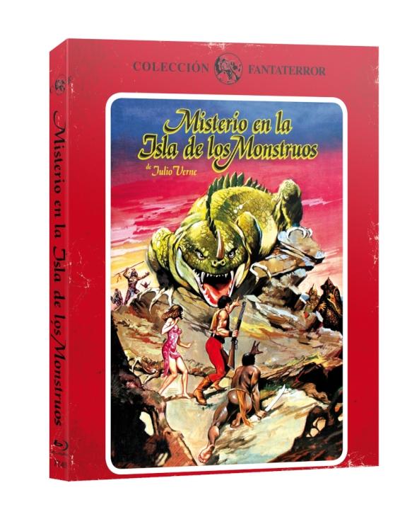 Imagen del Blu-ray de Misterio en la isla de los monstruos, de Ediciones 79