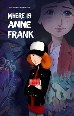Where Is Anne Frank poster